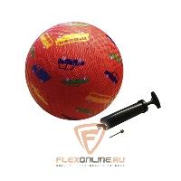 Медицинболы и мячи Мяч детский игровой с насосом оранжевый от NC sports