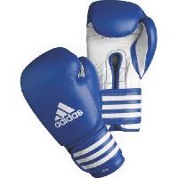 Боксерские перчатки Перчатки боксерские Ultima 12 унций сине-белые от Adidas