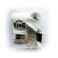 Cнарядные перчатки Перчатки снарядные на липучке L белые от King