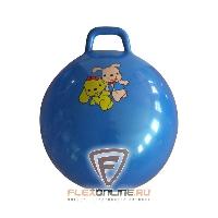 """Детский фитнес Мяч попрыгун с ручкой """"две дружные собачки"""" от Sport Pioneer"""