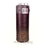 Груши и мешки Боксерский мешок, 33кг, размер L, цвет чёрный, кожа от Cleto Reyes