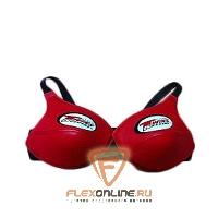 Защита тела Защита груди женская, размер M, красная, нат.кожа от Twins