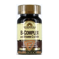 Витамины B-Complex with Vitamin C & Iron от Windmill
