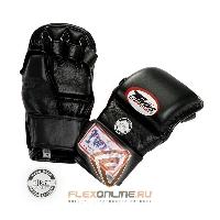 Перчатки MMA Перчатки ММА на липучке M чёрные от Twins